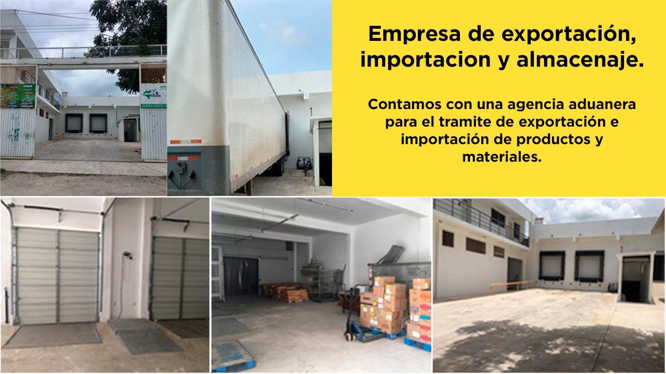 Exportación e importación y almacenaje