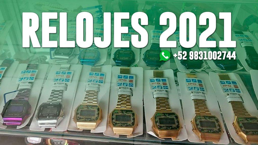 Relojes 2021 nuevos modelos